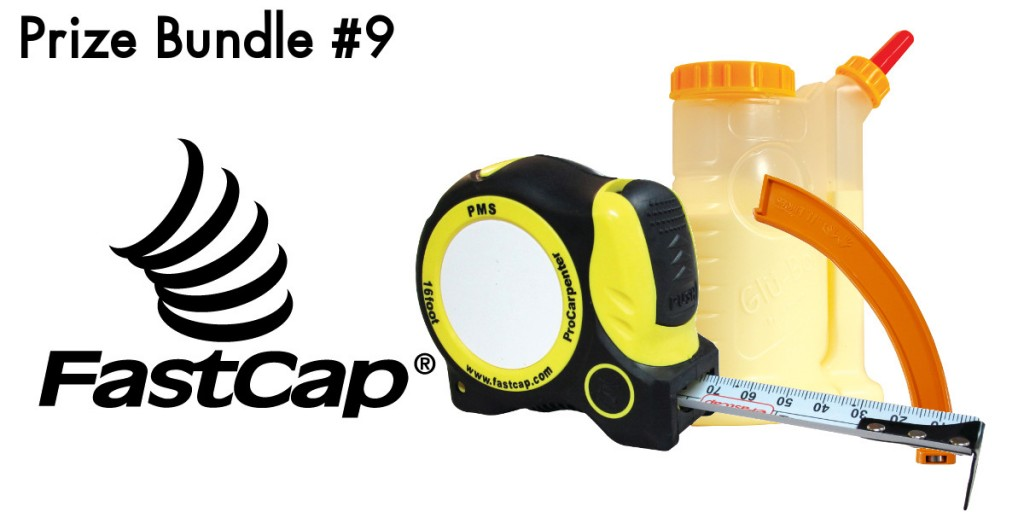 1x FastCap ProCarpenter AutoLock Tape Measure, 1x GluBot (16 oz.) and 1x The 11th Finger